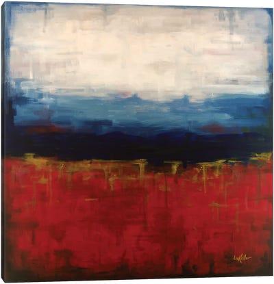 Abstract Blue Ridge I Canvas Art Print