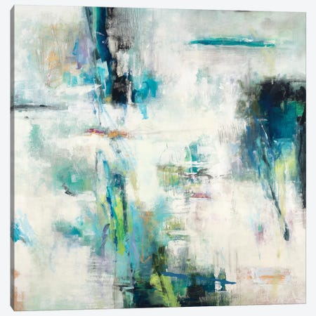 Spring Blu 3-Piece Canvas #HIB100} by Randy Hibberd Art Print