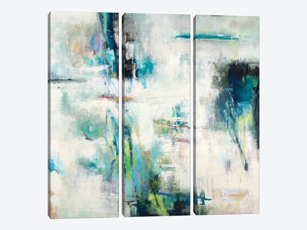 Spring Blu by Randy Hibberd 3-piece Canvas Print