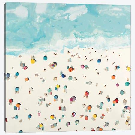 Beach Days Canvas Print #HIB101} by Randy Hibberd Canvas Art Print