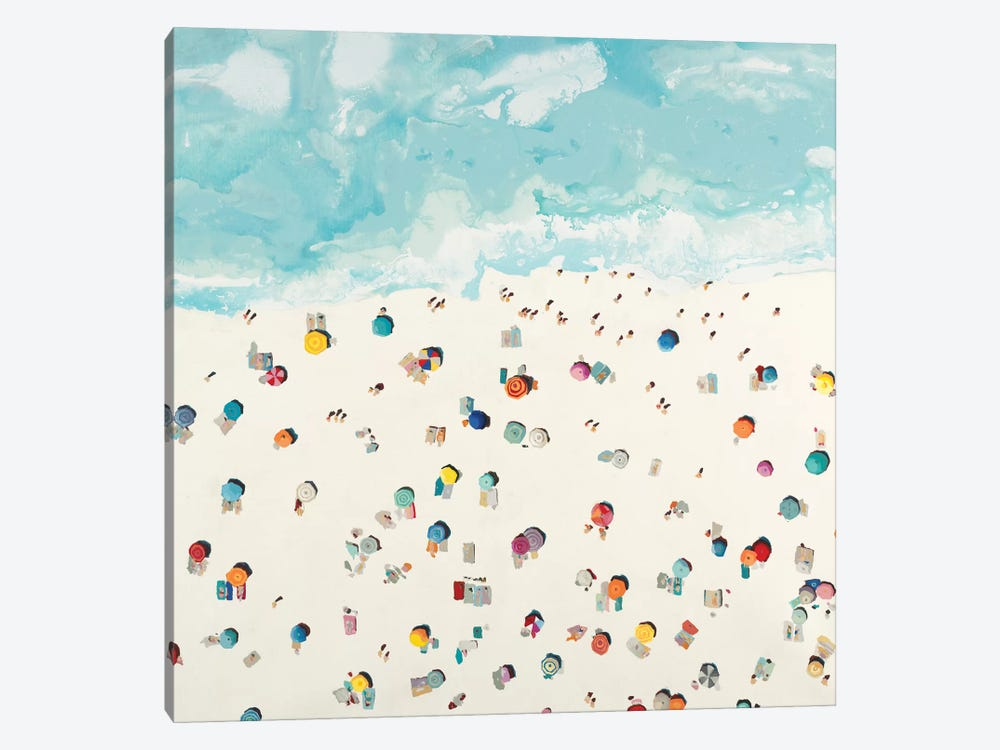 Beach Days by Randy Hibberd 1-piece Canvas Artwork