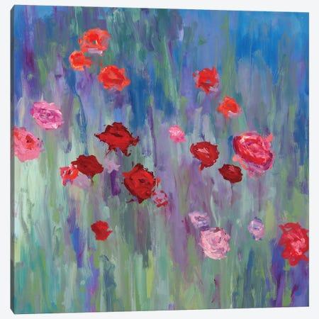 Wild Flowers Canvas Print #HIB104} by Randy Hibberd Canvas Wall Art
