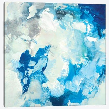 Blu Design Canvas Print #HIB105} by Randy Hibberd Canvas Wall Art