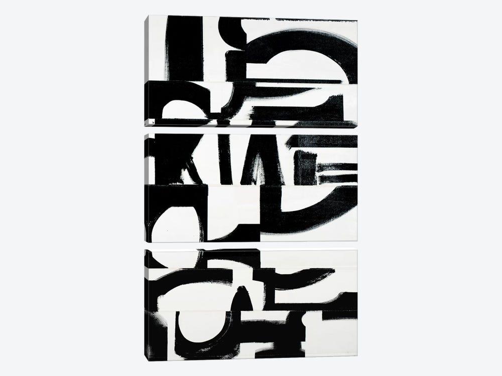Prosperous Elements V10 by Randy Hibberd 3-piece Canvas Wall Art