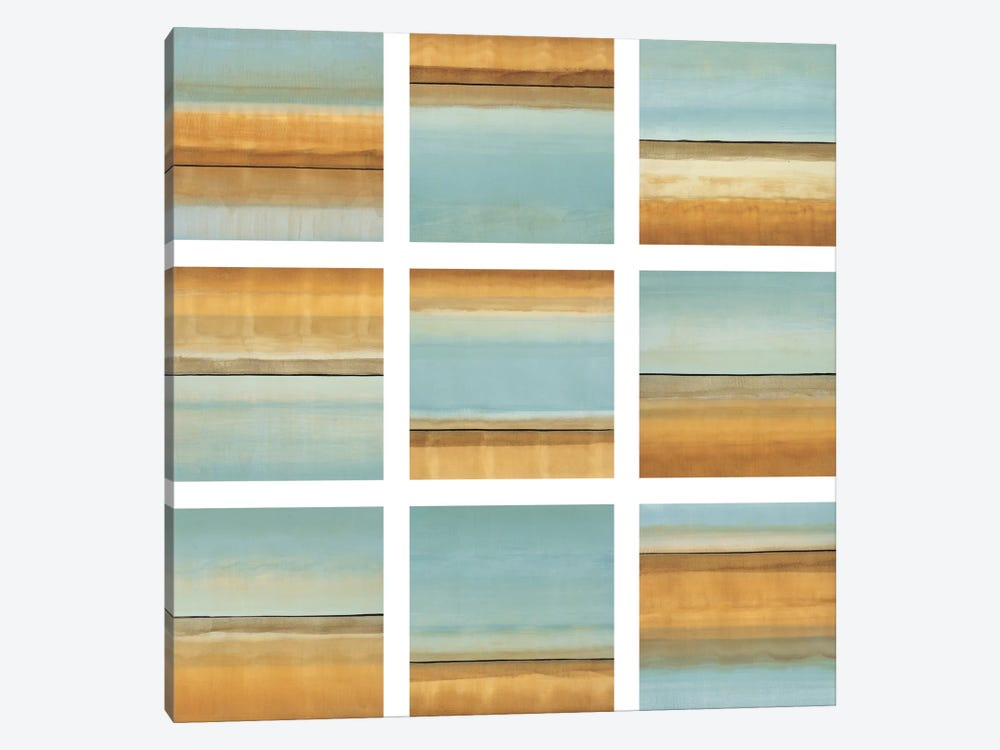 Blue Afternoon I by Randy Hibberd 1-piece Canvas Artwork