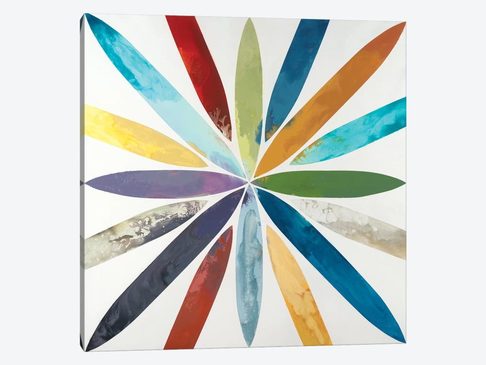 Free Flow by Randy Hibberd 1-piece Canvas Art Print