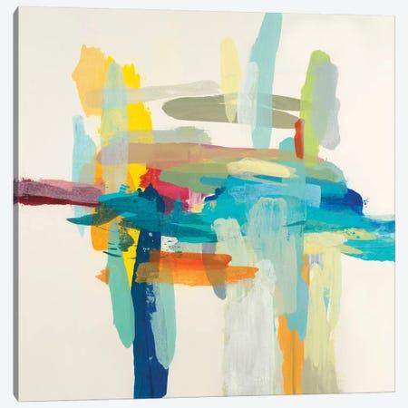 Interaction I Canvas Print #HIB133} by Randy Hibberd Canvas Wall Art