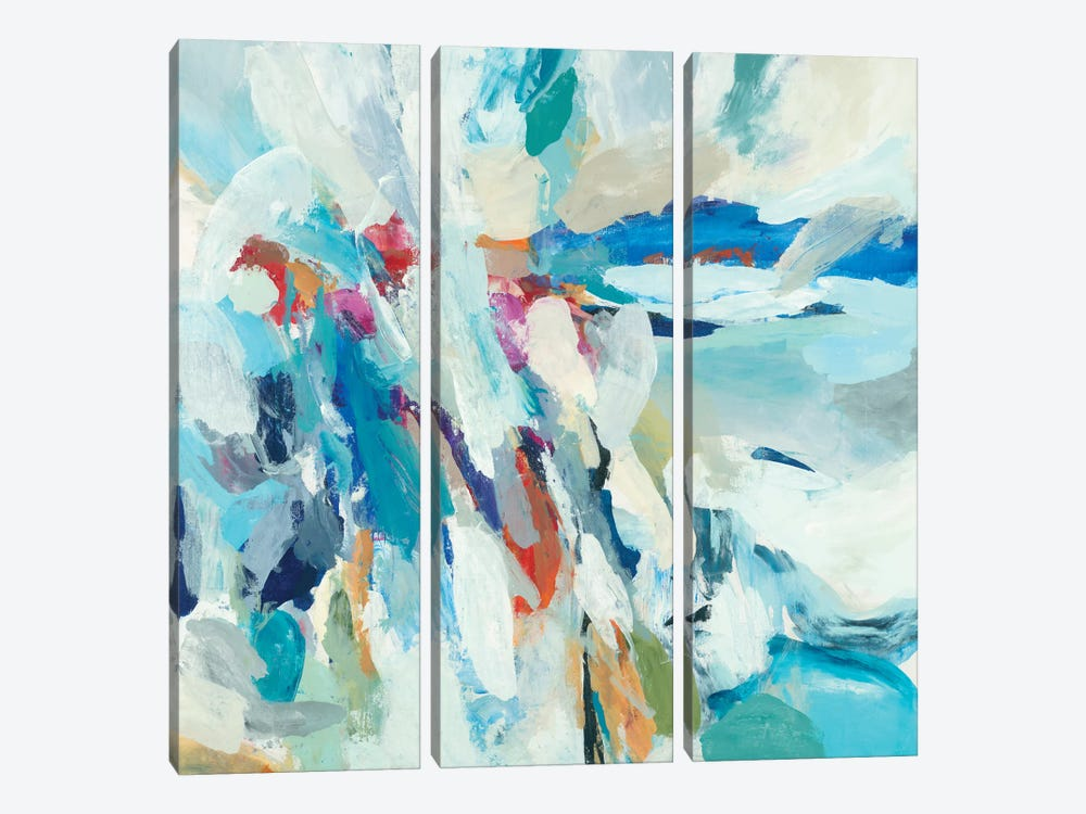 Joyous Expansion by Randy Hibberd 3-piece Canvas Wall Art
