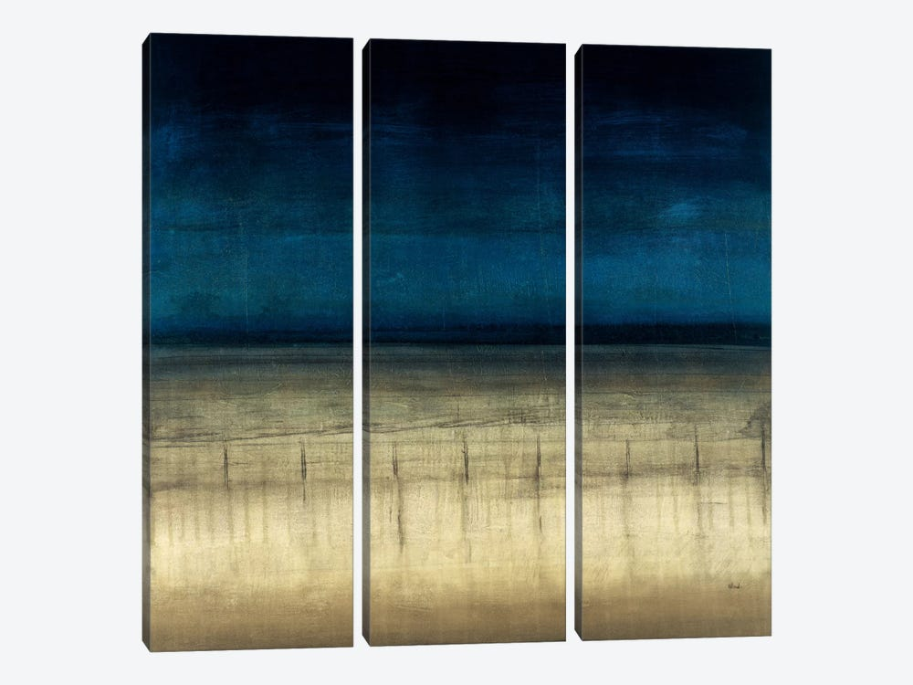 Blue Dream by Randy Hibberd 3-piece Canvas Wall Art