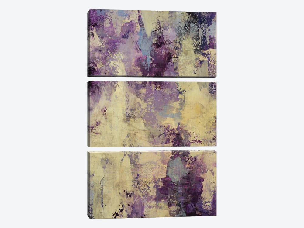 Lavender Touch by Randy Hibberd 3-piece Canvas Wall Art