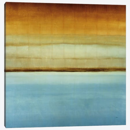 Blue Foam II Canvas Print #HIB16} by Randy Hibberd Canvas Art