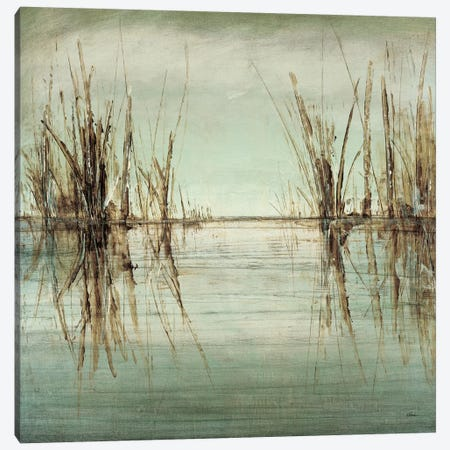 Blue Tranquility I Canvas Print #HIB17} by Randy Hibberd Canvas Artwork