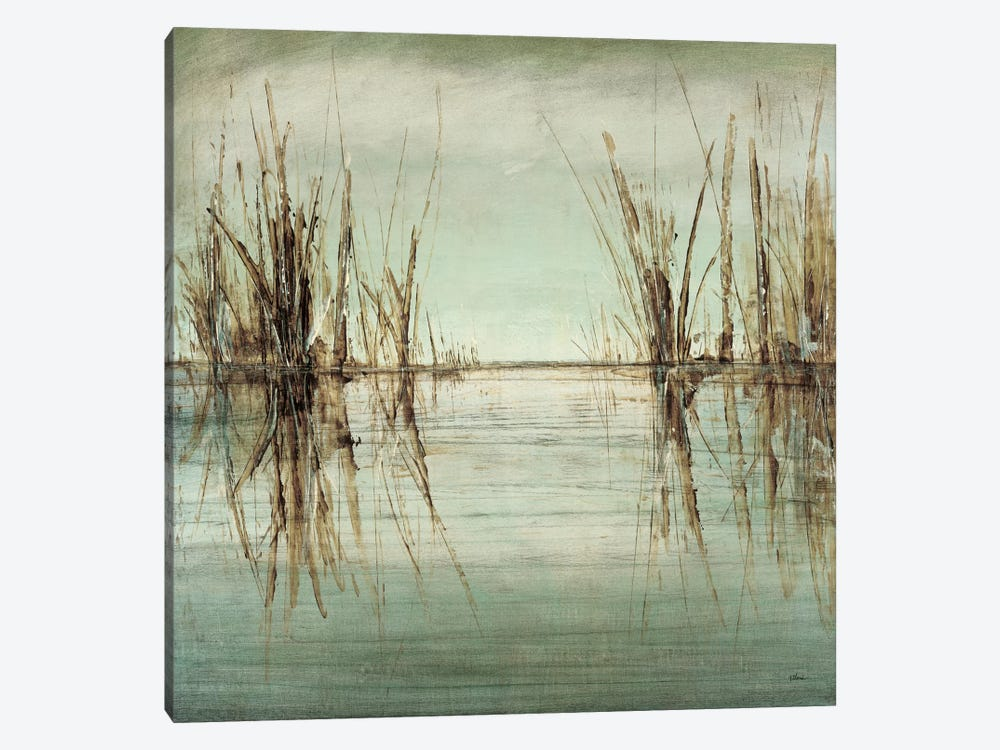 Blue Tranquility I by Randy Hibberd 1-piece Canvas Artwork
