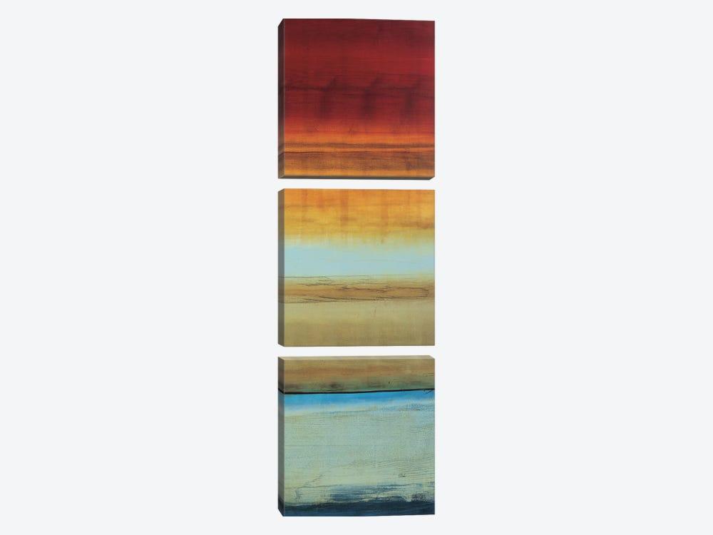 Color Line 1 by Randy Hibberd 3-piece Canvas Print