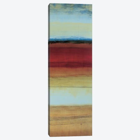 Color Line 3 Canvas Print #HIB23} by Randy Hibberd Canvas Artwork