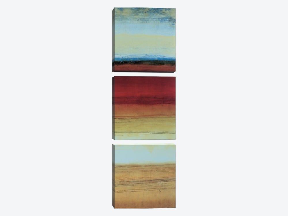 Color Line 3 by Randy Hibberd 3-piece Canvas Print