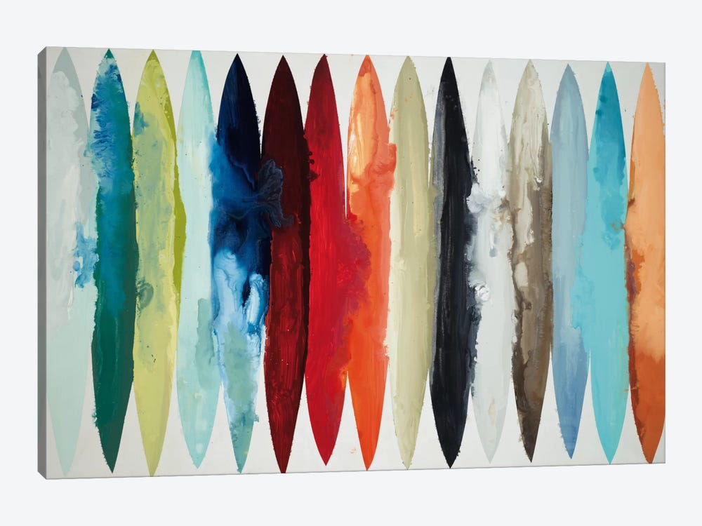 Even Flow by Randy Hibberd 1-piece Art Print