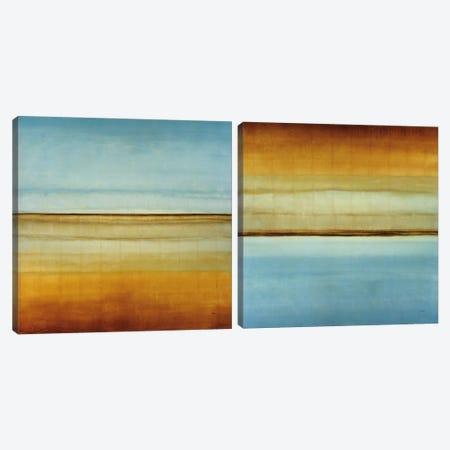 Blue Foam Diptych Canvas Print Set #HIB2HSET002} by Randy Hibberd Canvas Art