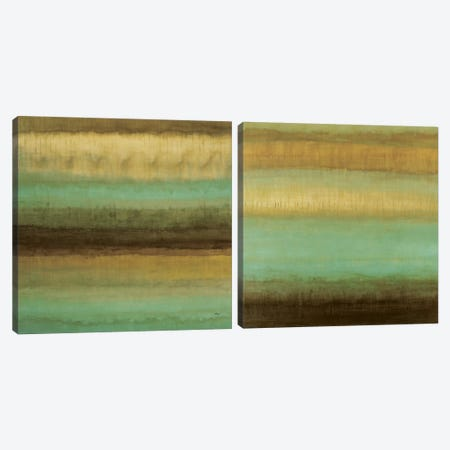 Layered Details Diptych Canvas Print Set #HIB2HSET003} by Randy Hibberd Canvas Art
