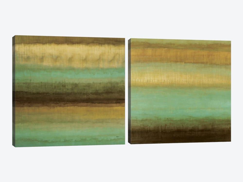 Layered Details Diptych by Randy Hibberd 2-piece Canvas Artwork