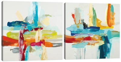 Synergy Diptych Canvas Art Print