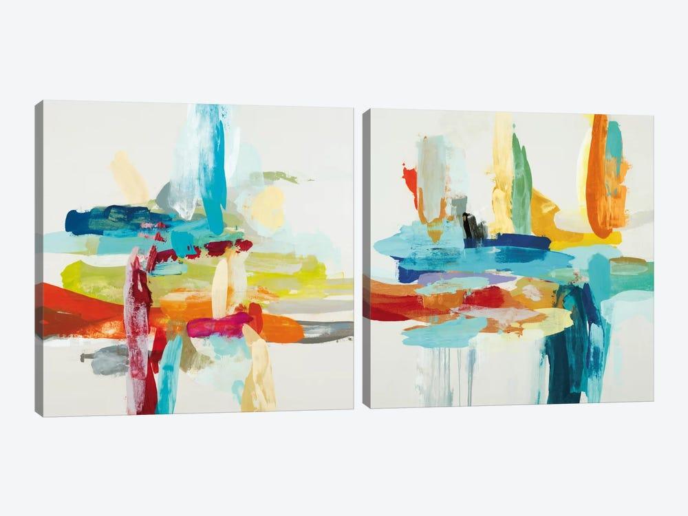 Synergy Diptych by Randy Hibberd 2-piece Canvas Art Print