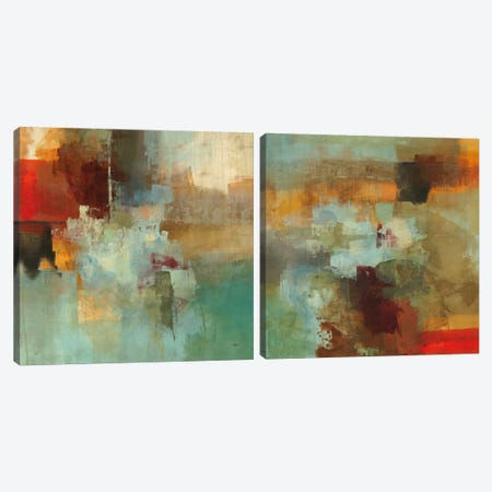 Big City Diptych Canvas Print Set #HIB2HSET007} by Randy Hibberd Art Print