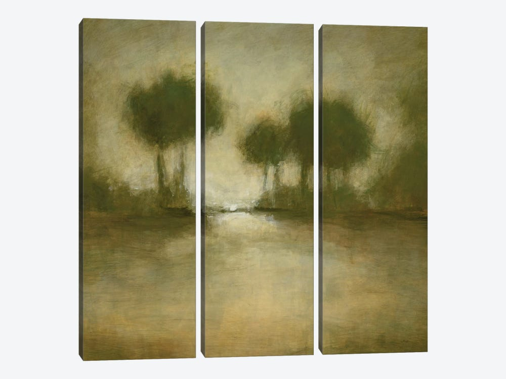 Golden Valley II by Randy Hibberd 3-piece Canvas Artwork
