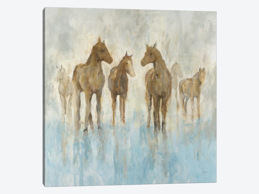 Horses by Randy Hibberd 1-piece Canvas Wall Art