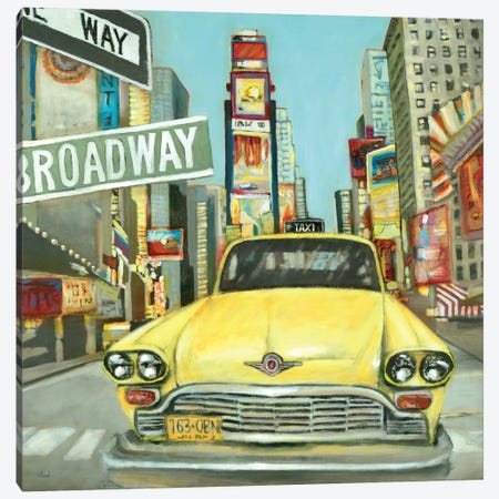 New York Canvas Print #HIB44} by Randy Hibberd Art Print