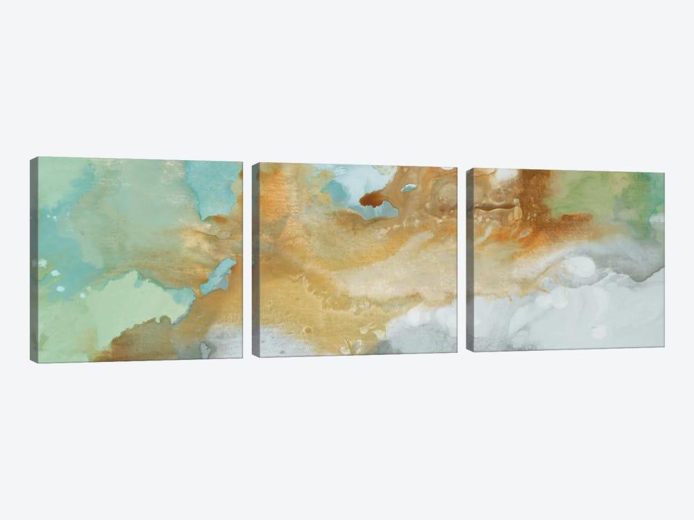 Open Layers by Randy Hibberd 3-piece Canvas Artwork