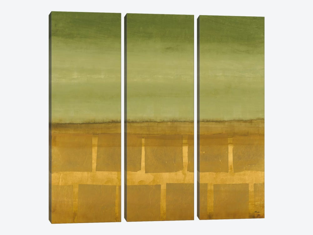 Sage Leaf by Randy Hibberd 3-piece Art Print