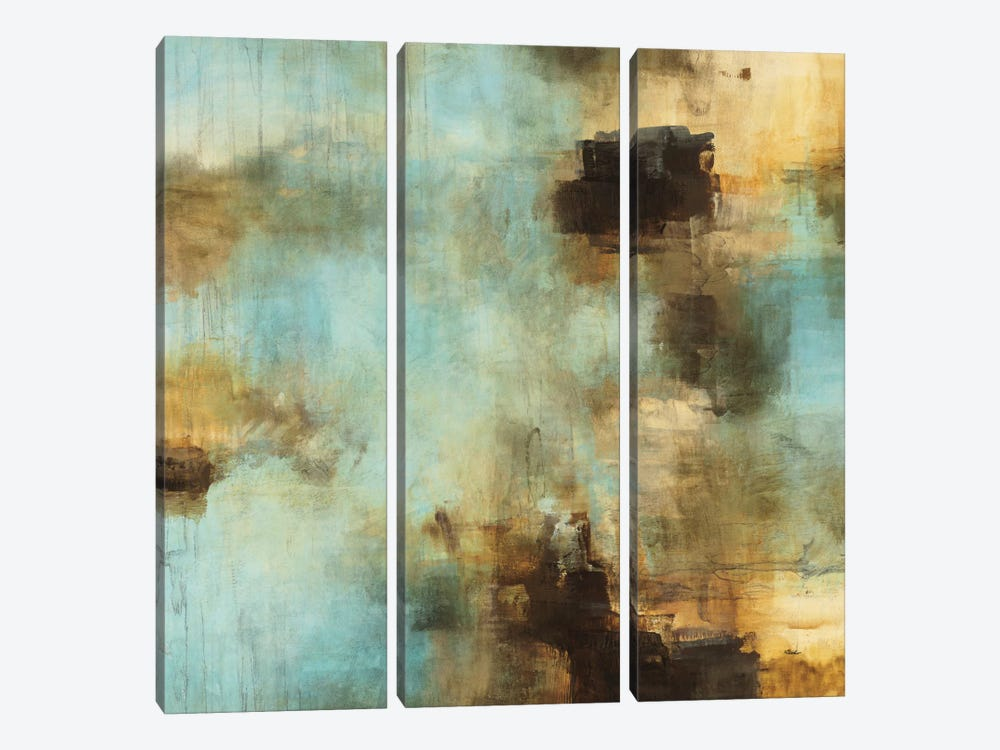 Shades I by Randy Hibberd 3-piece Canvas Art