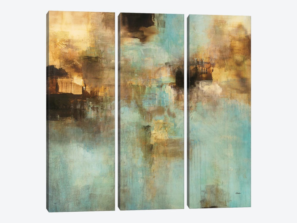 Shades II by Randy Hibberd 3-piece Canvas Print