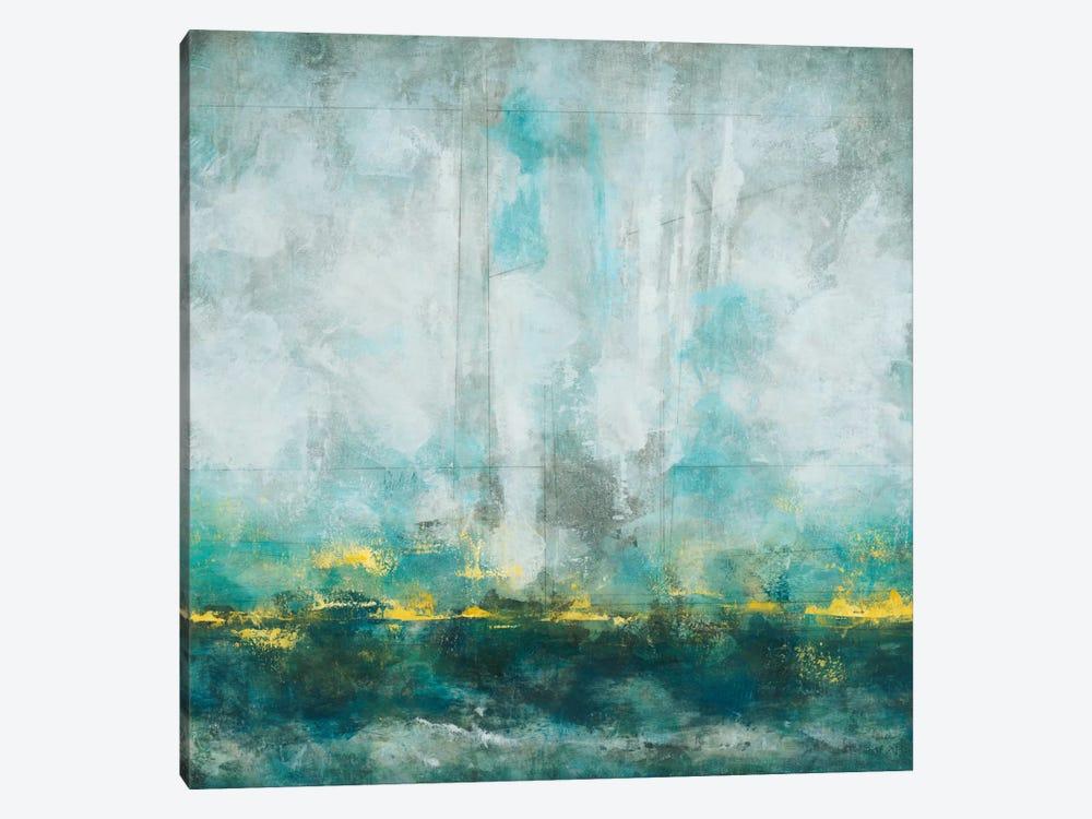 Aqua Blu by Randy Hibberd 1-piece Canvas Art Print