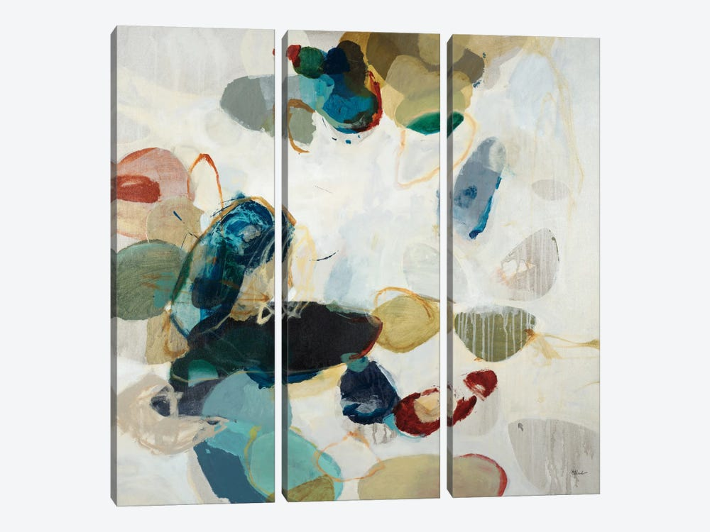 Stone Pattern II by Randy Hibberd 3-piece Art Print