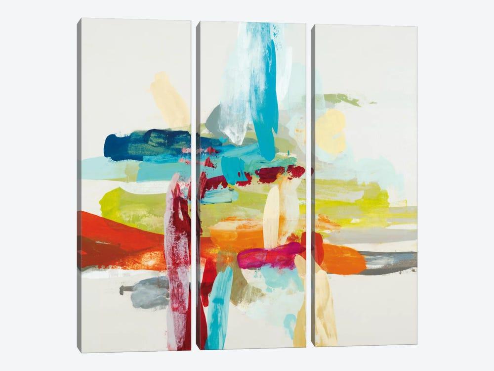 Synergy I by Randy Hibberd 3-piece Canvas Art Print
