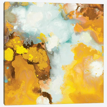 Flowering (Yellow) Canvas Print #HIB74} by Randy Hibberd Canvas Artwork