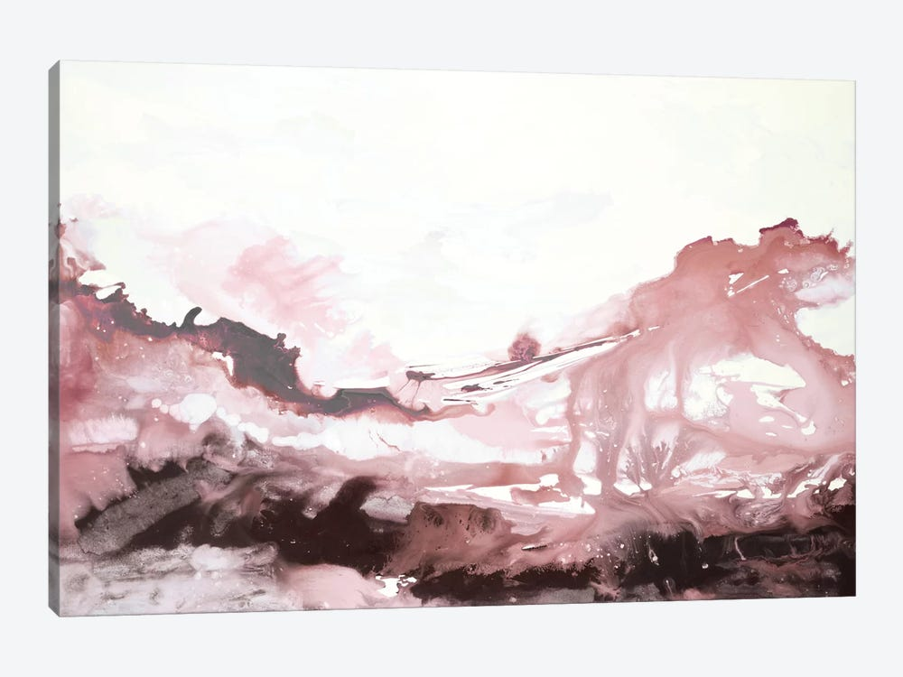 Pink Scenery by Randy Hibberd 1-piece Canvas Artwork