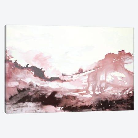 Pink Scenery Canvas Print #HIB77} by Randy Hibberd Canvas Wall Art