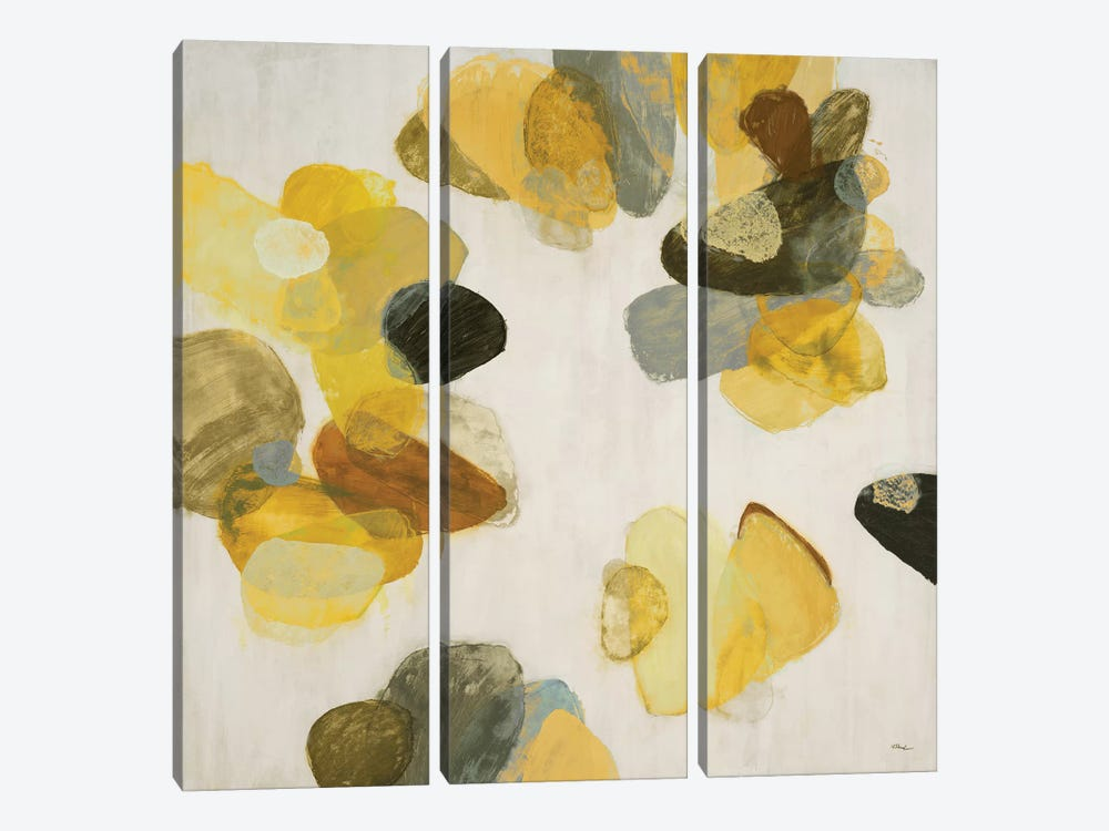 Treasure Within III (Yellow) by Randy Hibberd 3-piece Canvas Art Print