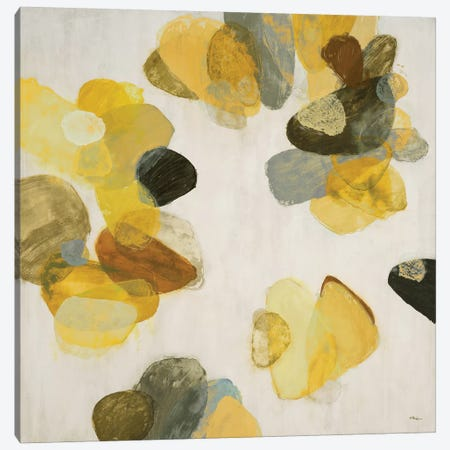 Treasure Within III (Yellow) 3-Piece Canvas #HIB78} by Randy Hibberd Canvas Print