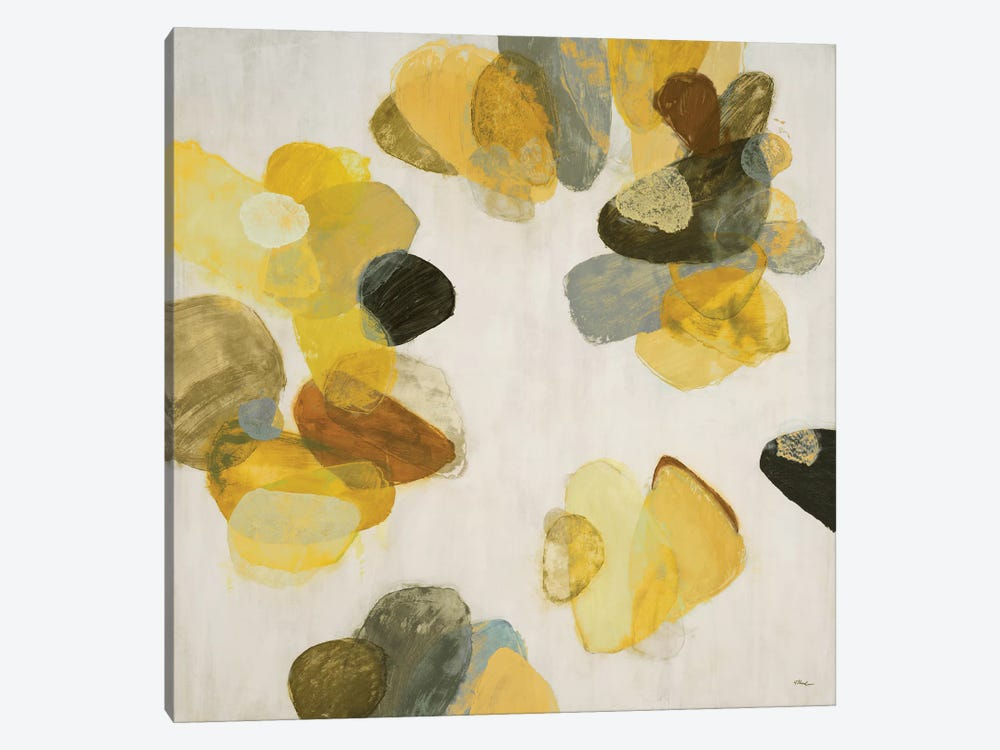 Treasure Within III (Yellow) by Randy Hibberd 1-piece Canvas Print