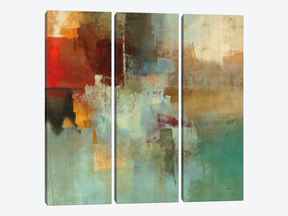 Big City I by Randy Hibberd 3-piece Canvas Print