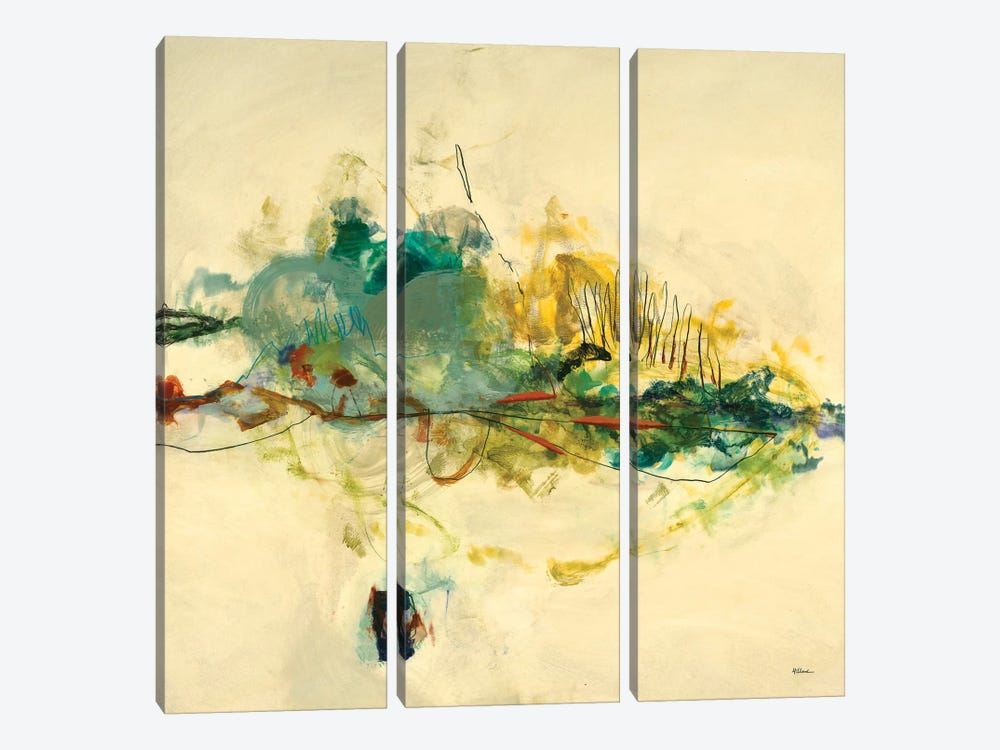 Dreamland II by Randy Hibberd 3-piece Canvas Art Print