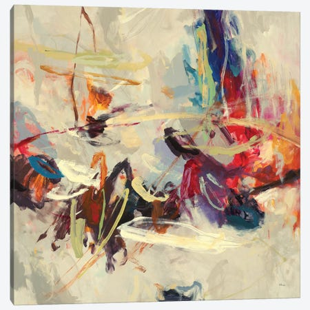 Positive Energy III Canvas Print #HIB99} by Randy Hibberd Canvas Art Print