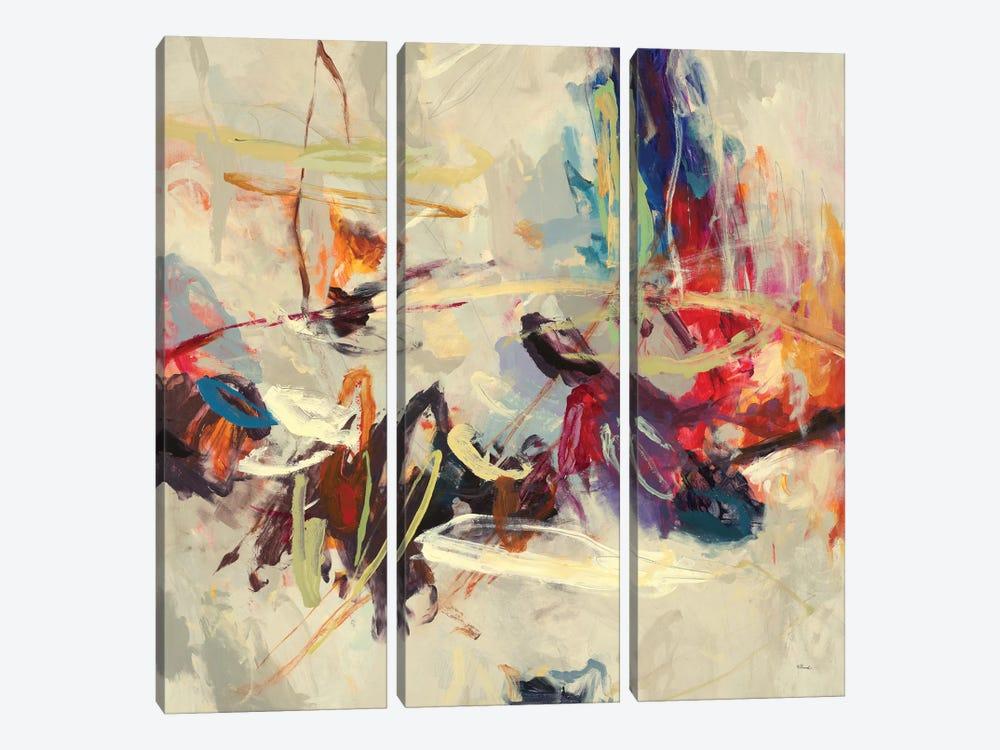 Positive Energy III by Randy Hibberd 3-piece Canvas Art