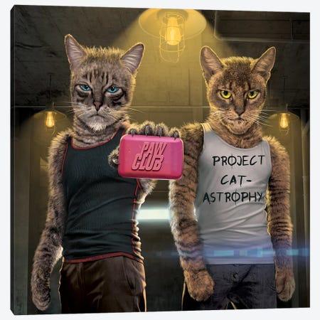 Paw Club Canvas Print #HIE102} by Vincent Hie Canvas Artwork