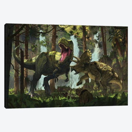 Protection Canvas Print #HIE108} by Vincent Hie Canvas Artwork