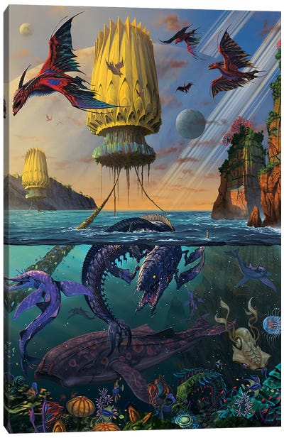Cyris Undiscovered Canvas Art Print